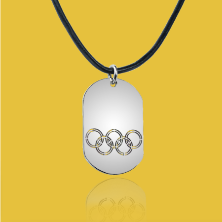 Men's ID necklace - OLY