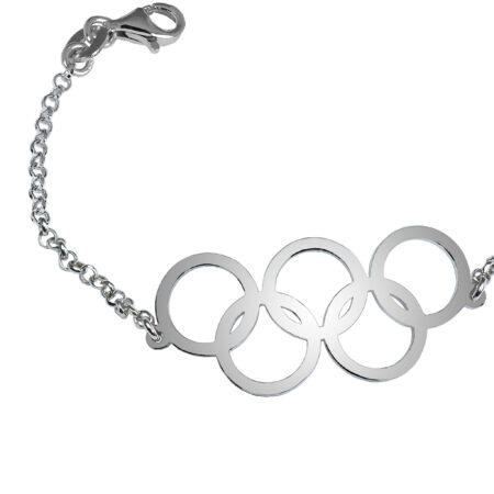 Silver bracelet for women - OLY03