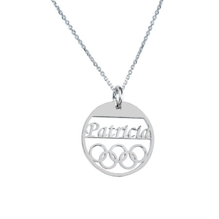 olympic rings necklace - OLY02