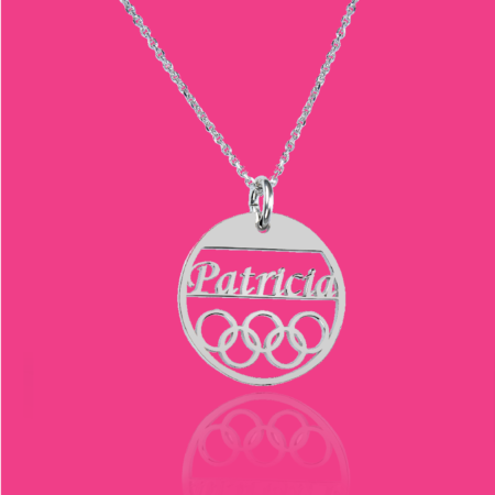 pesonalised necklace for women - OLY02