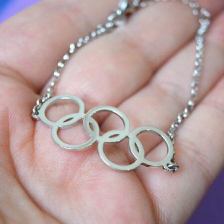 womens silver bracelet